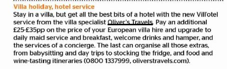 The Times - Vill'otel - Oliver's Travels