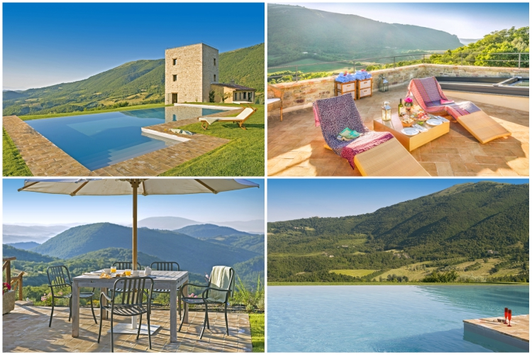 Tower Villa - Umbria - Oliver's Travels