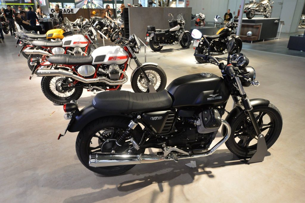 Delve into the history of motorcycling at Museum Moto Guzzi