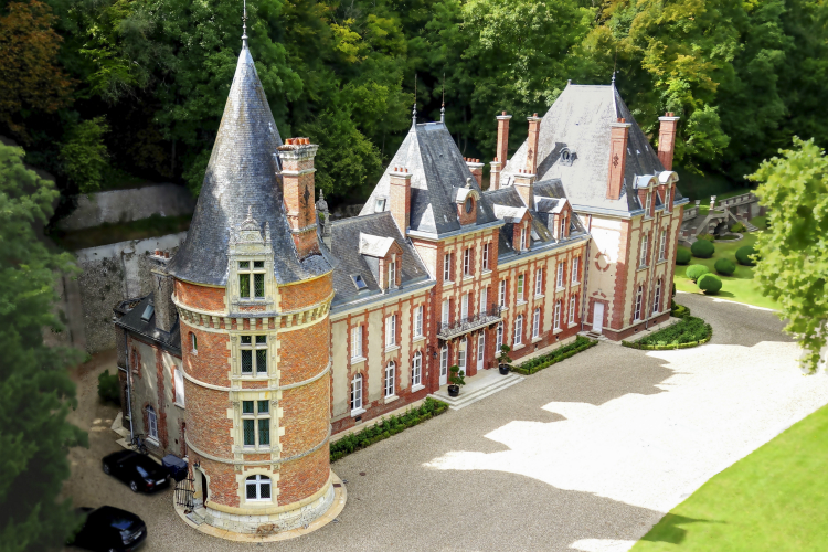 Chateau-Saint-Clair-Normandy-Olivers-Travels villas in Normandy