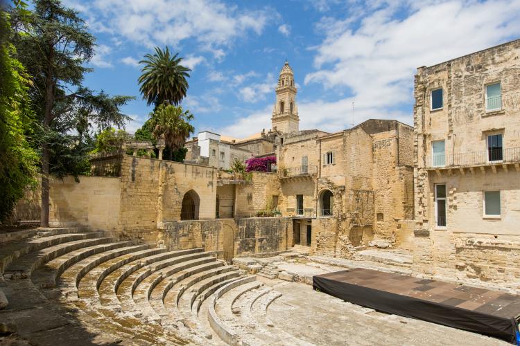 Little roman amphitheatre in Lecce