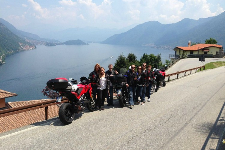 Sightsee like an Italian with Lake Como Motorbike