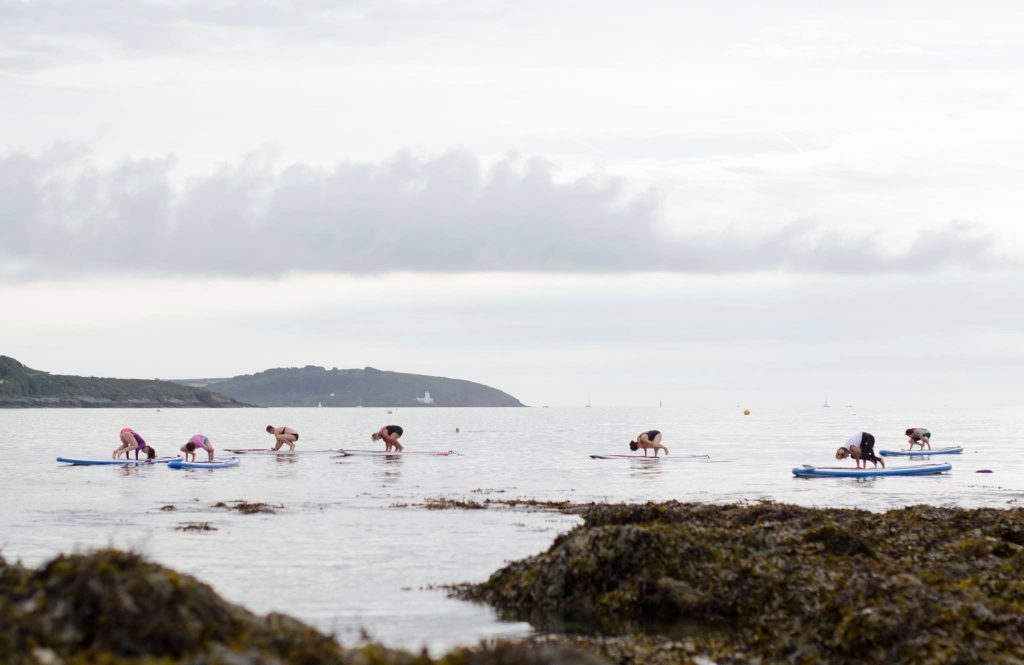Paddleboard with WeSup | group activities in Cornwall