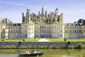 Chambord chateau panoramic - Loire Valley
