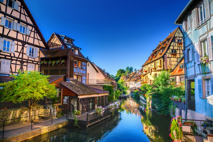 The 15 most beautiful towns and villages in france oliver Colmar beauty and the beast