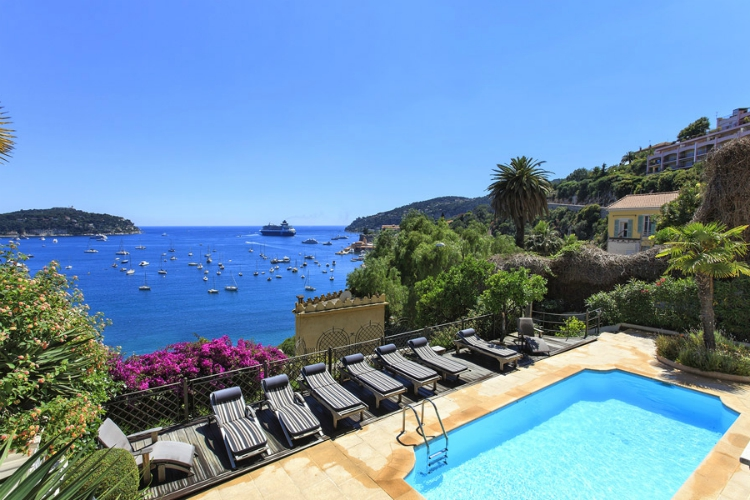 Villa Sol - Cote d'Azur - Oliver's Travels villas with swimming pools in France