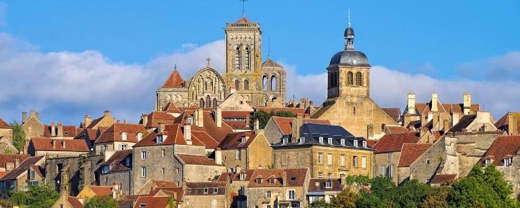Vezela in Burgundy France