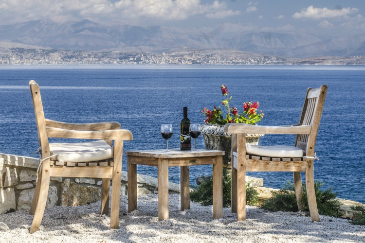 Villa-Athina-Olivers-Travels-Corfu-Greece villas for alfresco dining