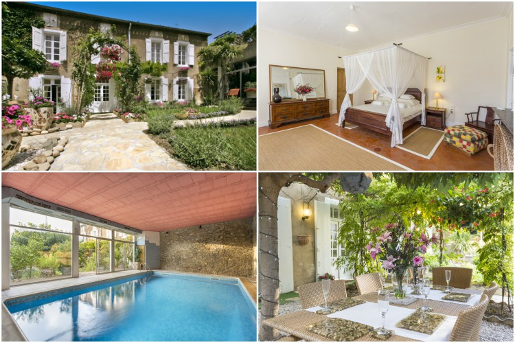 L'Oustal Des Fleurs - Languedoc - Oliver's Travels