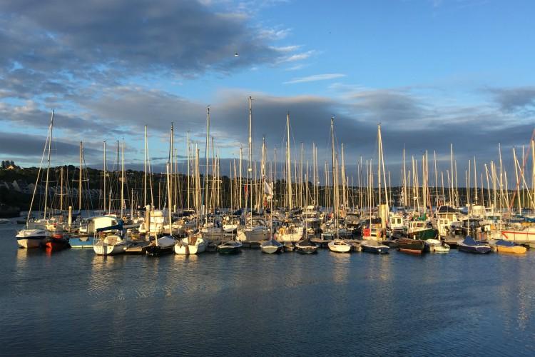 The port in Kinsale | Ireland