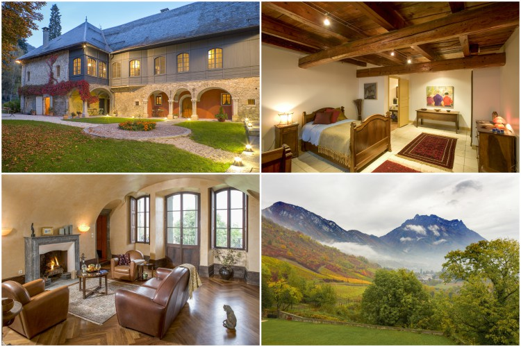 Chateau Ste Genevieve - Rhone-Alpes - Oliver's Travels