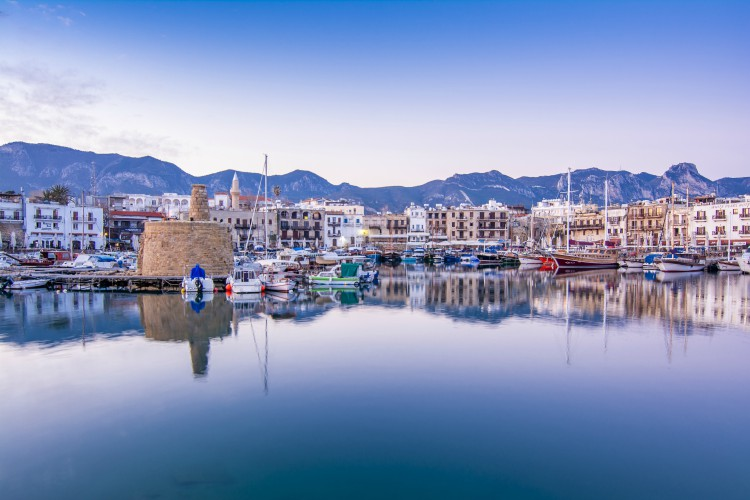 Kyrenia Harbour, Northern Cyprus | winter sun