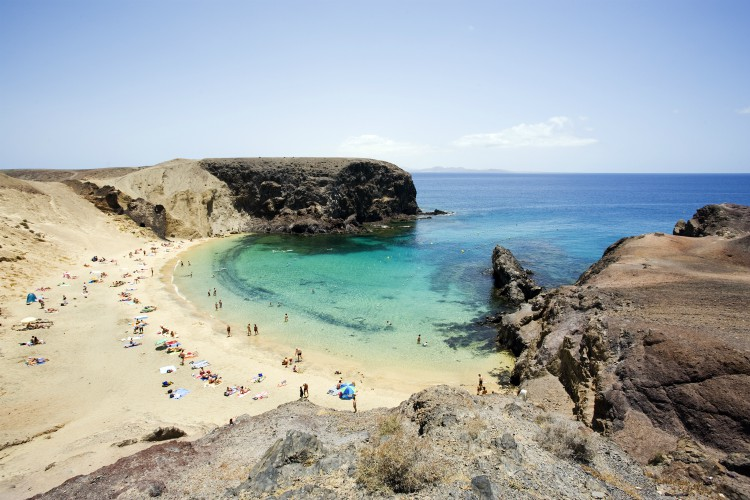 Playa de Papagayo, Lanzarote | winter sun