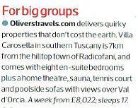 Sunday Times Travel Mag - big groups