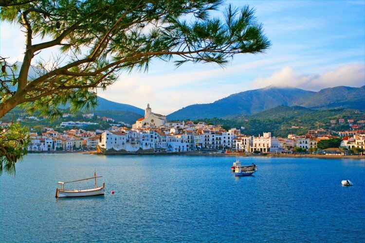 Cadaques, a small town on the Costa Brava, Spain