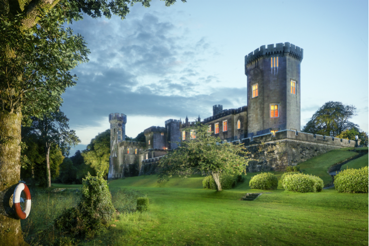 Gothic Castle Estate - County Galway - Oliver's Travels