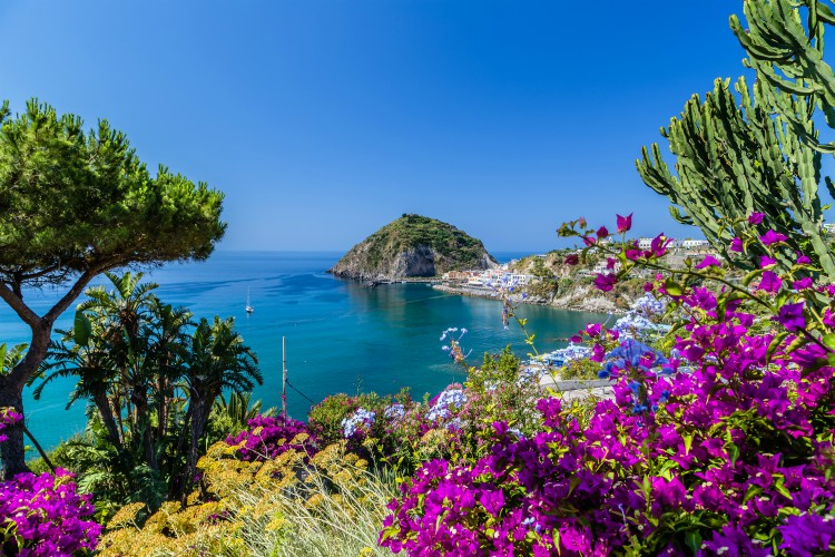 The beautiful island of Ischia