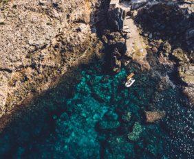 Beautiful Balearic coastline