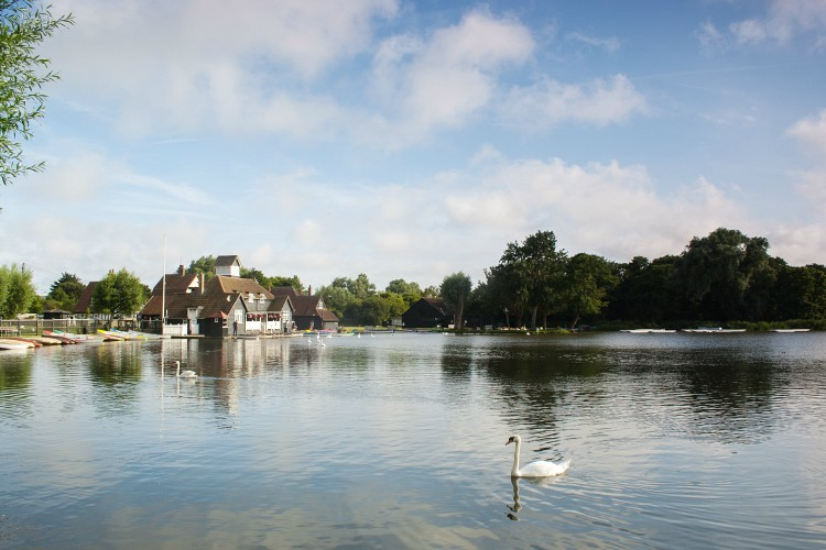 The Meare boating lake