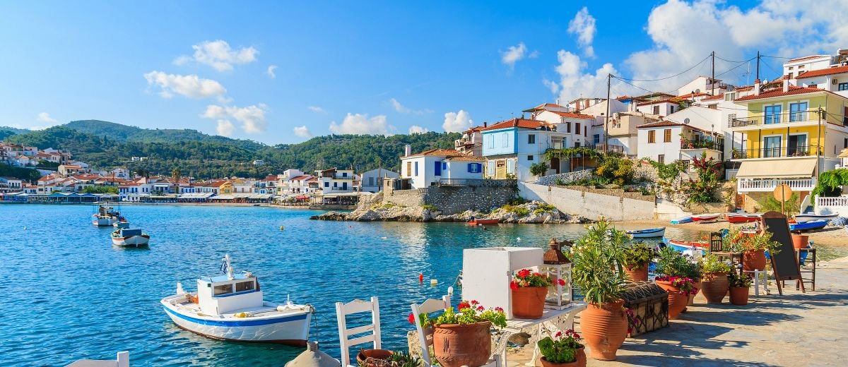 Samos is a Greek island in the eastern Aegean Sea, south of Chios, north of Patmos.
