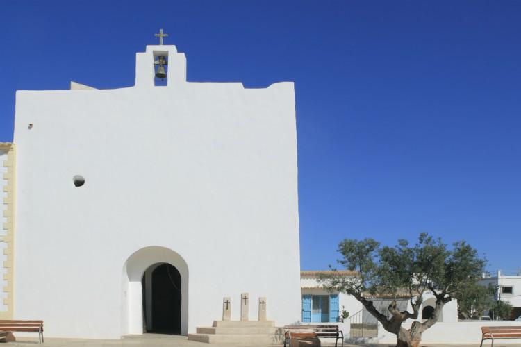 San Francisco Javier church Formentera