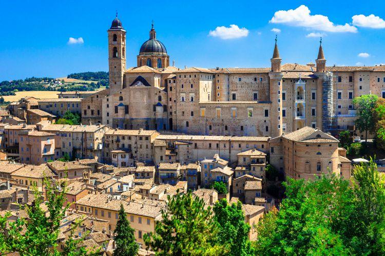 Urbino,Marche,Italy