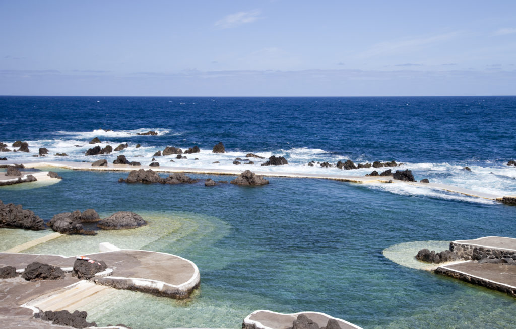 The Volcanic Rock Swimming Pools in Porto Moniz should be in your Madeira itinerary