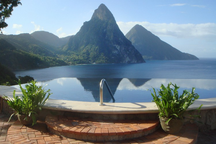 Caille Blanc - St Lucia - Oliver's Travels