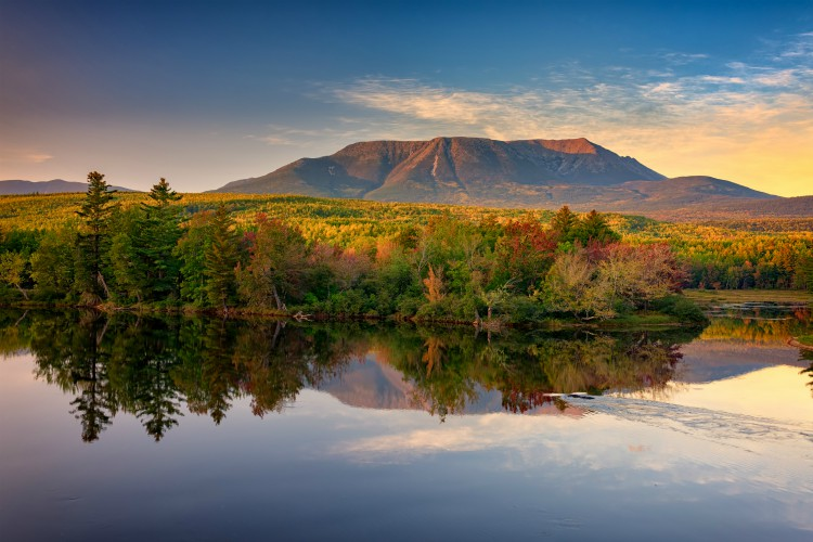 Katahdin at Sunset