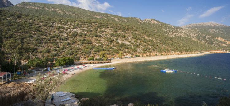 Akcagerme beach Kalkan