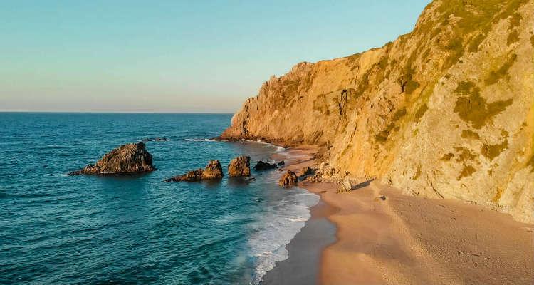 Praia da Adraga Sintra best beaches in lisbon