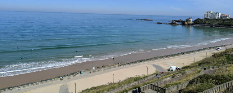 Côte des Basques beach Biarritz