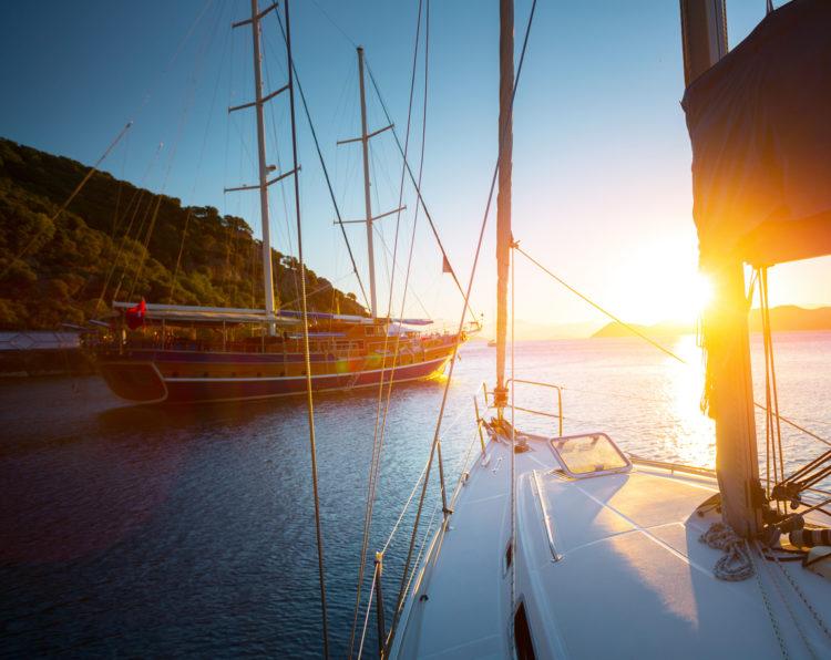 Turkish sailing boat