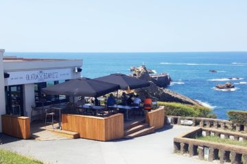 Best restaurants with views in Biarritz
