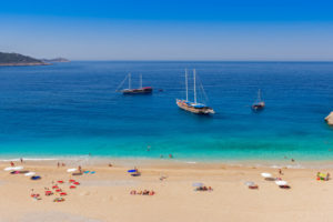Turqouise coast beach kalkan