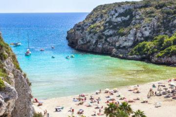 best beaches in menorca