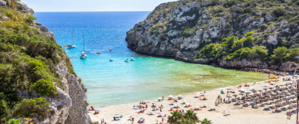 best beaches in menorca