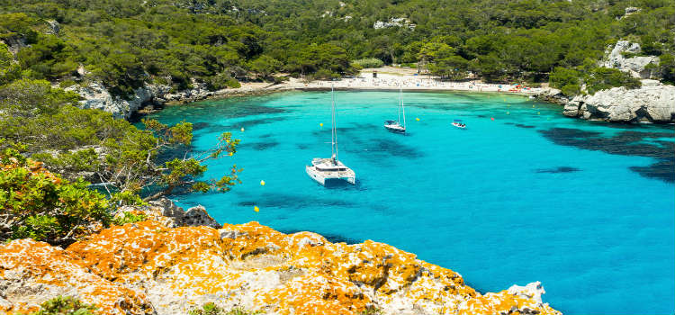 Boat trip things to do in menorca
