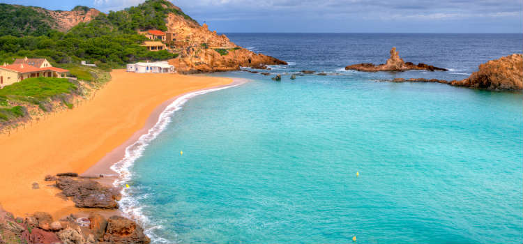Cala Pregonda best beaches in menorca