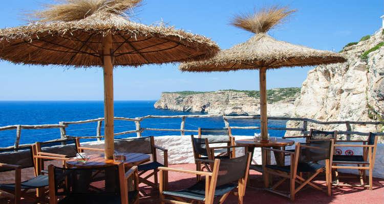 Cala en porter cliff bar things to do in menorca