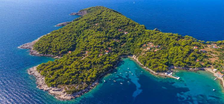 Elaphiti Island Dubrovnik best beaches in dubrovnik