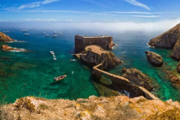 Fort in Berlenga island best oudoor activities Lisbon Coast
