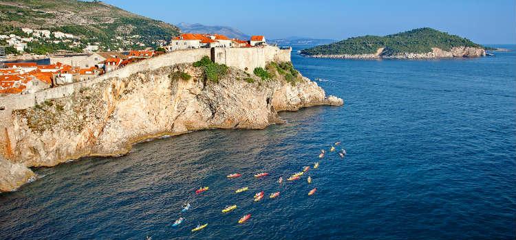 Kayak Dubrovnik Lokrum best beaches in dubrovnik