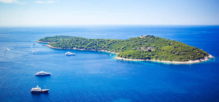 lokrum island day trip things to do in dubrovnik
