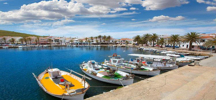 menorca towns fornells