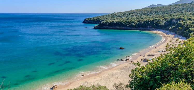 Parque Natural da Arrábida outdoor activities on lisbon coast