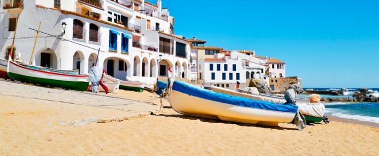 best beaches in costa brava Calella de Palafrugell