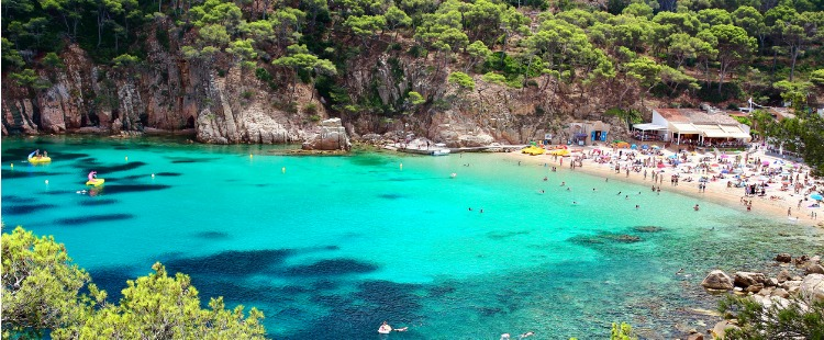 Best Beaches in Costa Brava Playa de Aiguablava, Begur