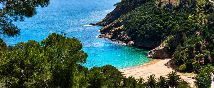 Best Beaches In Costa Brava Cala Giverola, Tossa de Mar