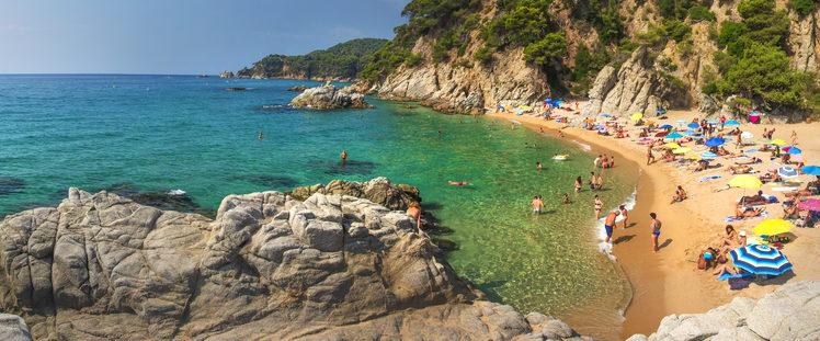 Best Beaches in Costa Brava Playa Cala Sa Boadella, Lloret de Mar